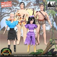 Tarzan Retro 8 Inch Action Figures