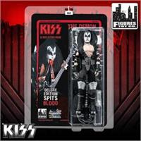 KISS 12 Inch Action Figures: The Demon Blood Spitting Deluxe Version