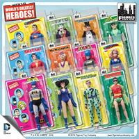 DC Comics 8 Inch Action Figures With Retro Cards