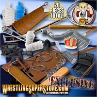 Wrestling Action Figure Hardcore Weapons & Gear