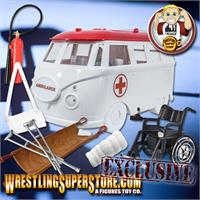 Ambulance For Wrestling Action Figures