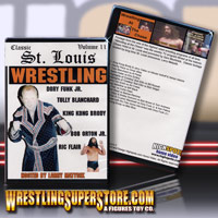 Classic St Louis Wrestling DVD's