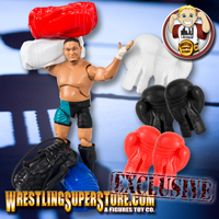 Training Gym Items for Wrestling Figures
