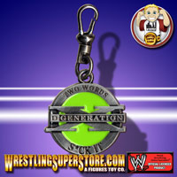 WWE Zipper Pulls