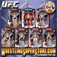 UFC Jakks Action Figures & Rings