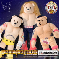 WWE Official Plush 16 Inch Teddy Bears