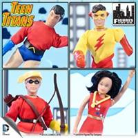 Teen Titans Retro 7 Inch Action Figures