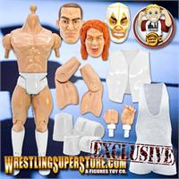 Wrestling Figure Generic Bodies, Parts & Kits For Customizers