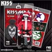 KISS 8 Inch Limited Edition Action Figure Christmas Series