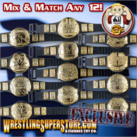 Championship Belts for Wrestling Figures (Exclusive)