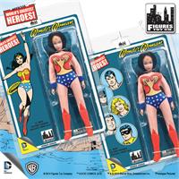 Wonder Woman Retro 8 Inch Action Figures
