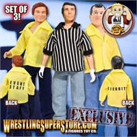 Wrestling Crew/Referee Figures