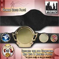Customizable World Championship Spinning Belt