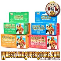 Vintage Hulk Hogan Vitamin Display Boxes