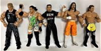 WWE Action Figure Lots of 5 Loose Figures