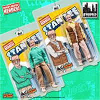Stan Lee Retro 8 Inch Action Figures