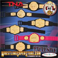 TNA Action Figure Belts