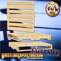 Plastic Toy Pallets for 6 Inch WWE Wrestling Action Figures