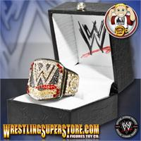 WWE Championship Belt Finger Rings