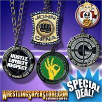 WWE Spinning Pendants