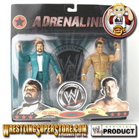 WWE Jakks Two Figure Packs