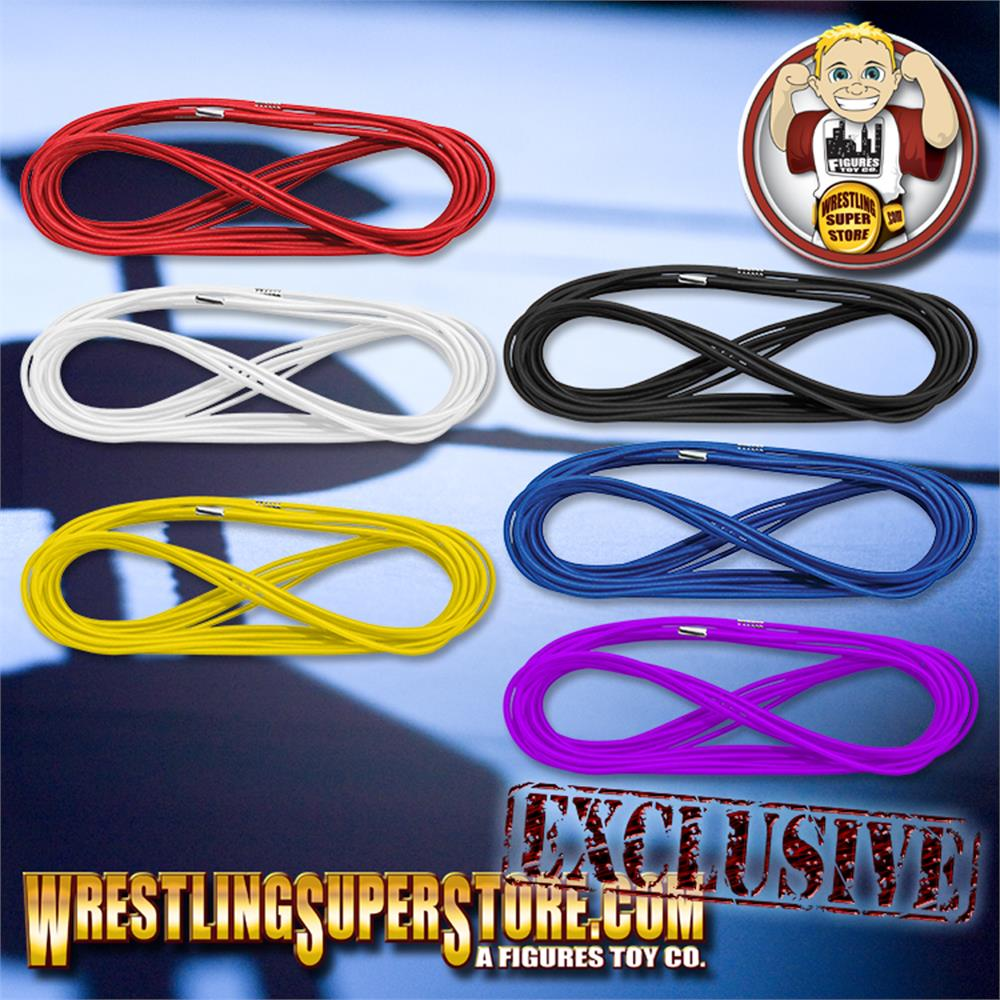 Red Ring Ropes for Wrestling Action Figure Ring by Figures Toy Company