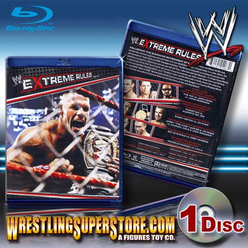 Extreme Rules 2011 Wwe Extreme Rules 2011 Blu Ray