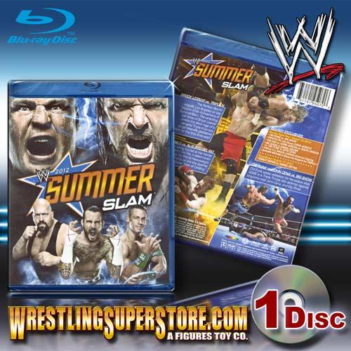 WWE SummerSlam 2012 Blu Ray DVD