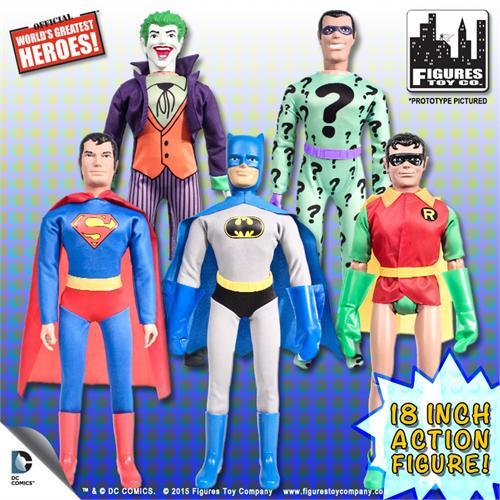 Loose 18 Inch Retro DC Comics Action Figures The Joker