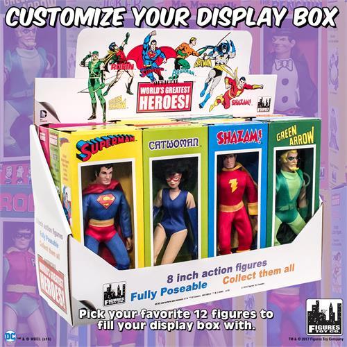 DC Comics Retro Style Boxed 8 Inch Action Figures Retro 4 Batman