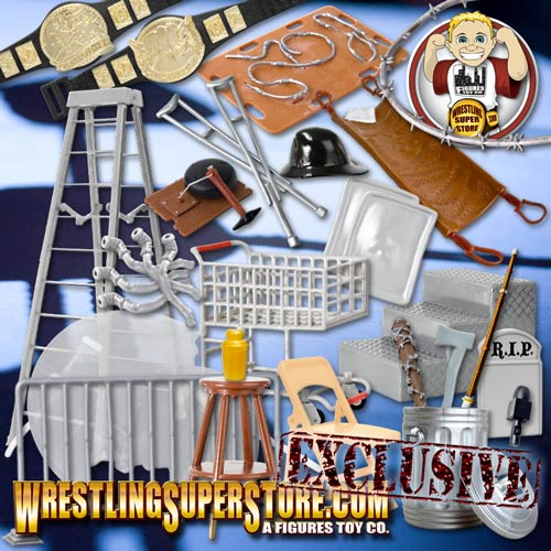 30 Piece Massive Wrestling Accessories Pack