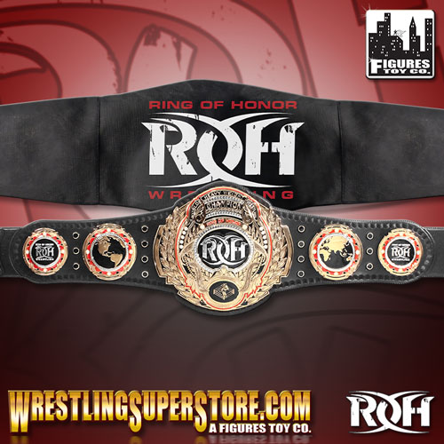 Ring Of Honor World Championship Adult Size Replica Belt