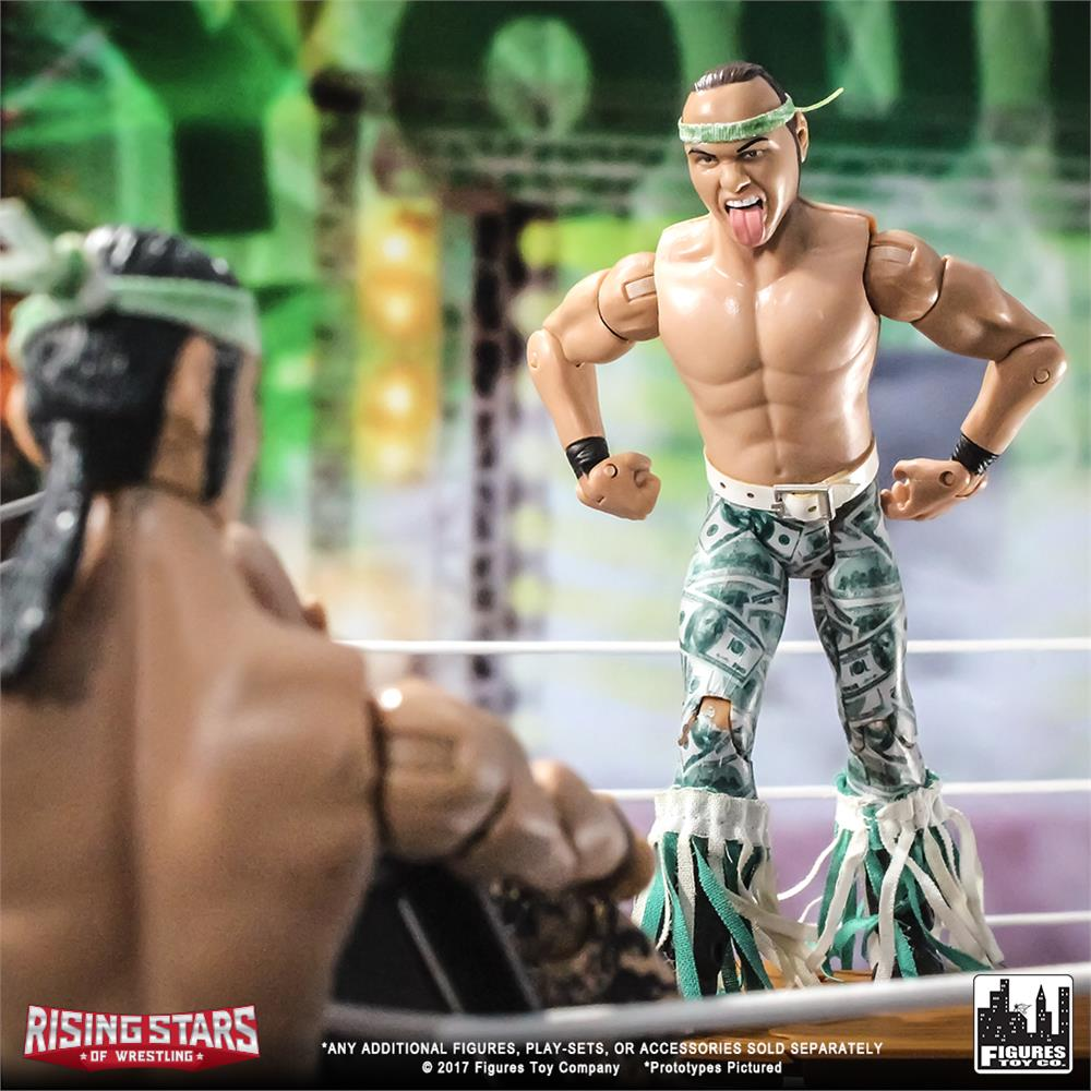 b993535430d2 Rising Stars of Wrestling Action Figure Series Chuck Taylor Sport