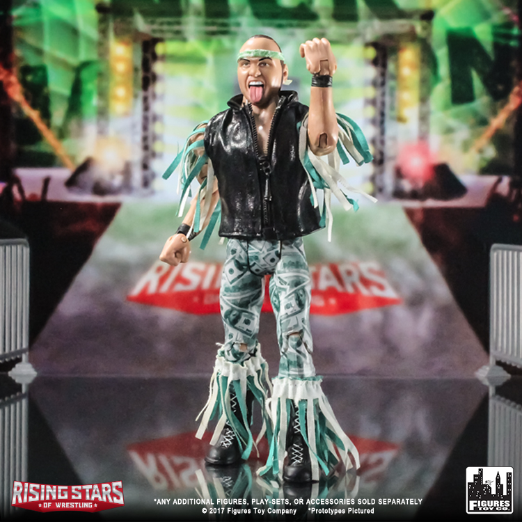 The Young Bucks Two-Pack Rising Stars of Wrestling Action Figure Series
