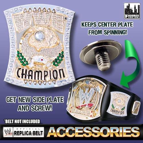Championship Side Wwe Championship Belt Side