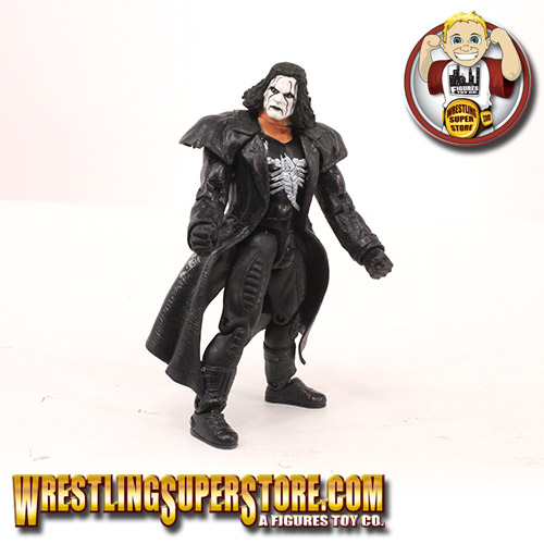 source wcw loose sting action figure