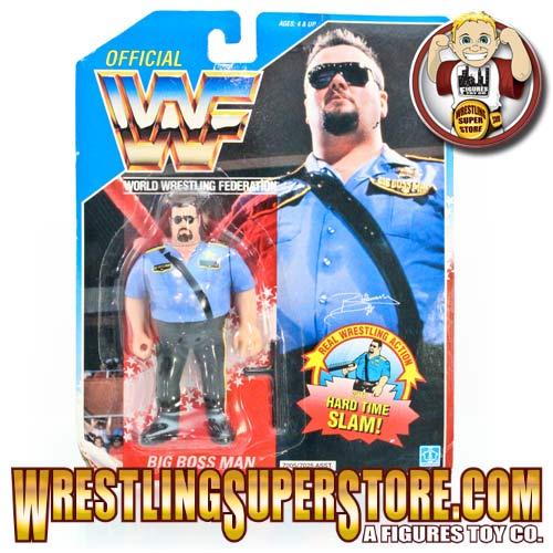 Wwe Hasbro Big Boss Man Carded Figure English W Hard