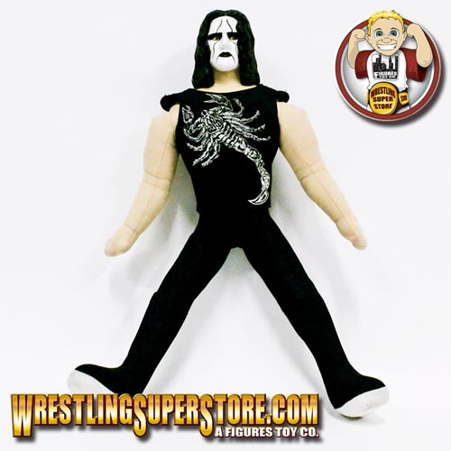 wcw sting stuffed plush doll