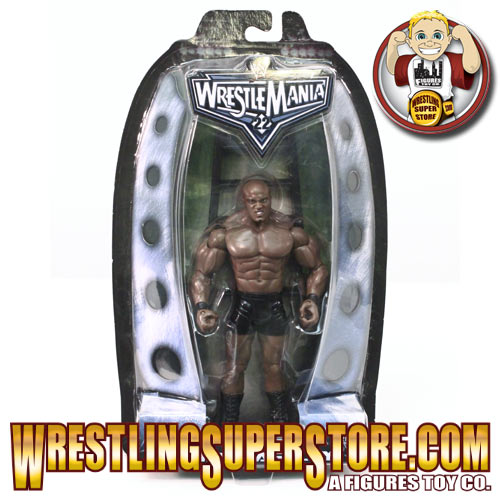 WWE Jakks Wrestlemania 22 Series Bobby Lashley Figure