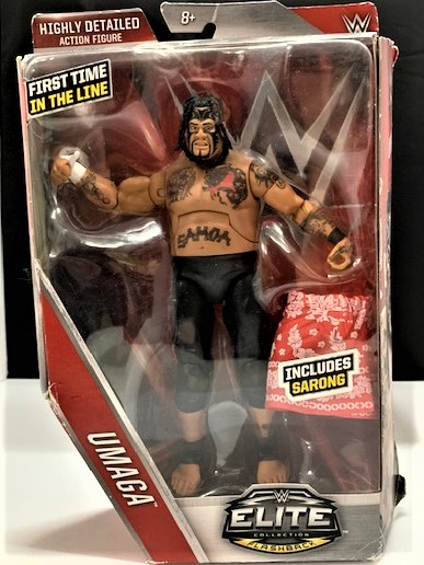 Umaga WWE Mattel Elite lucha libre figura