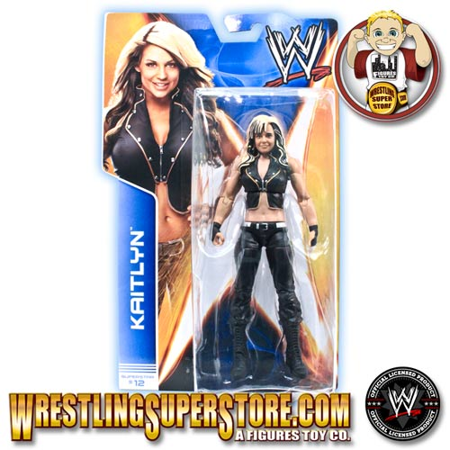 Wwe Kaitlyn Action Figure WWE Mattel Basics Seri...