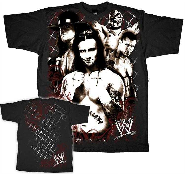 9a1d264ce WWE Superstars Adult Size T Shirt