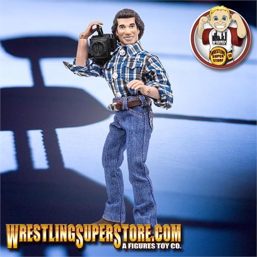 Set of 3 TV Camera for WWE Wrestling Action Figures