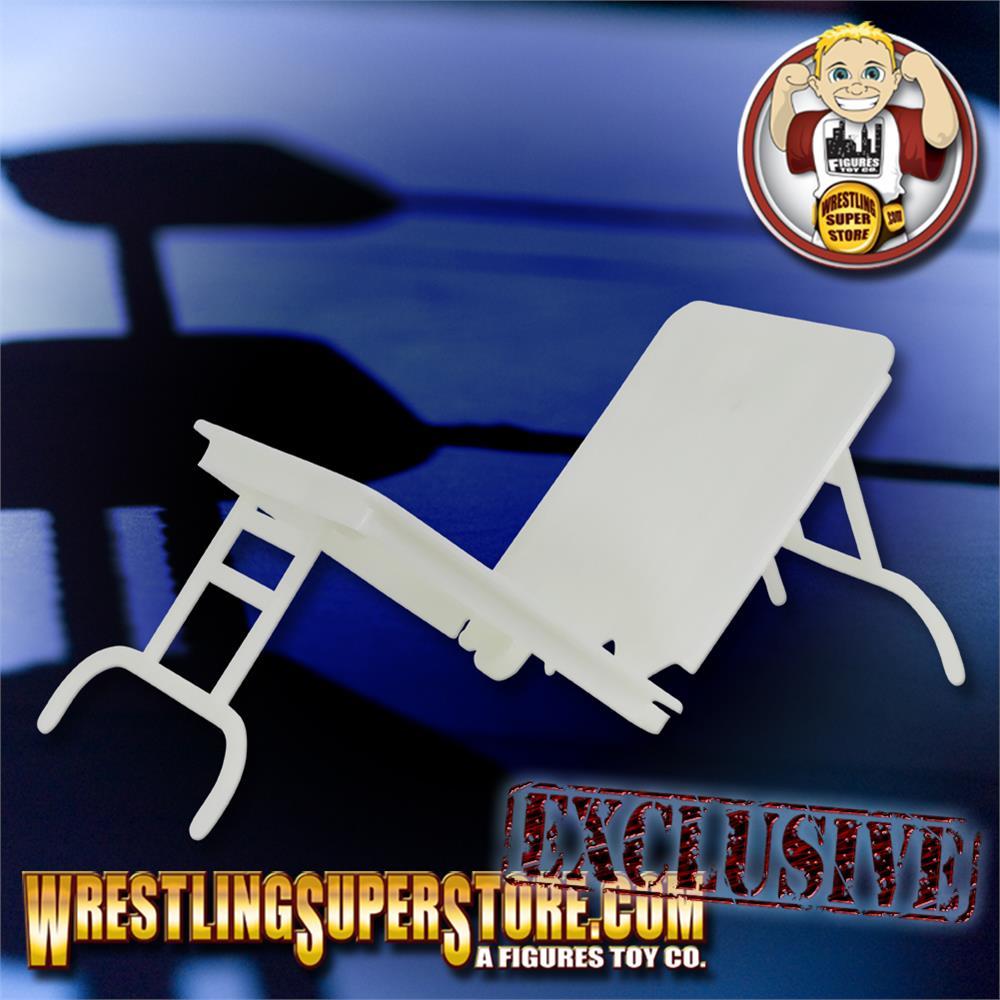Set of 3 Black Breakable Tables for WWE Wrestling Action Figures