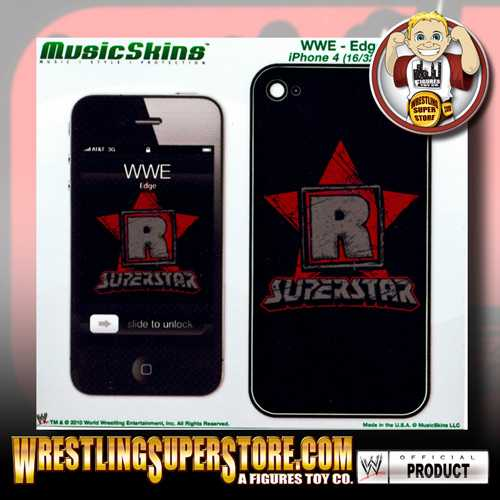 WWE's Phone Number http://wrestlingsuperstore.com/wweedgeratedrsuperstarskinforiphone4.aspx