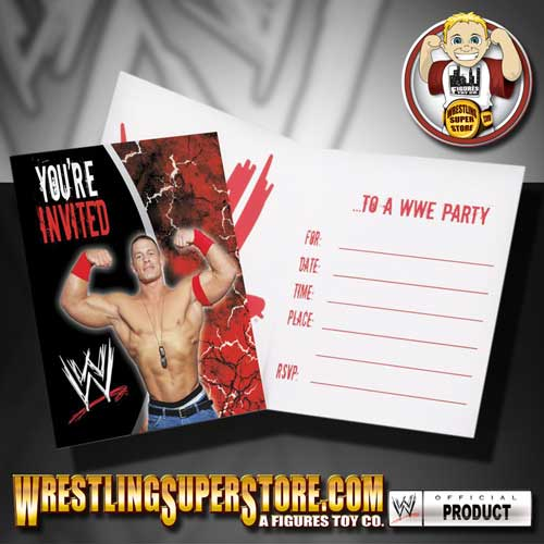 wwe birthday invitations  wblqual, Birthday card