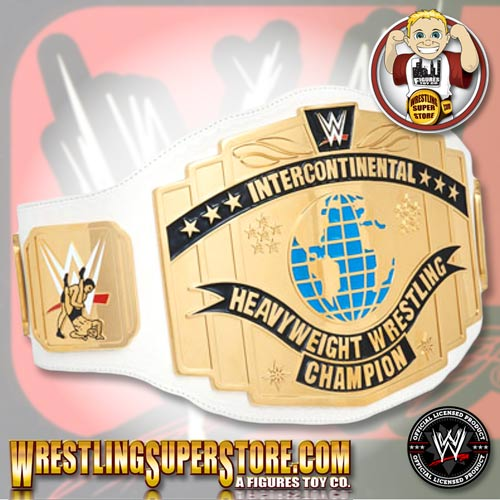 Newlogo 3d: WWE Intercontinental Championship Adult Size Replica Belt