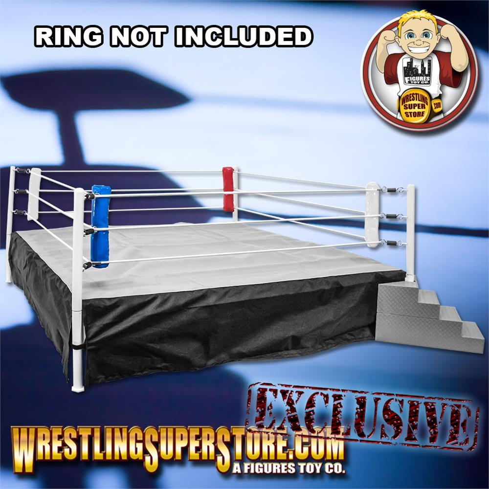 Set of 4 Wrestling Ring Corner Pads for Wrestling Action Figures