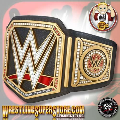 Wwe World Heavyweight Championship Belt 2014 Brock Lesnar WWE World Heavyweight ...