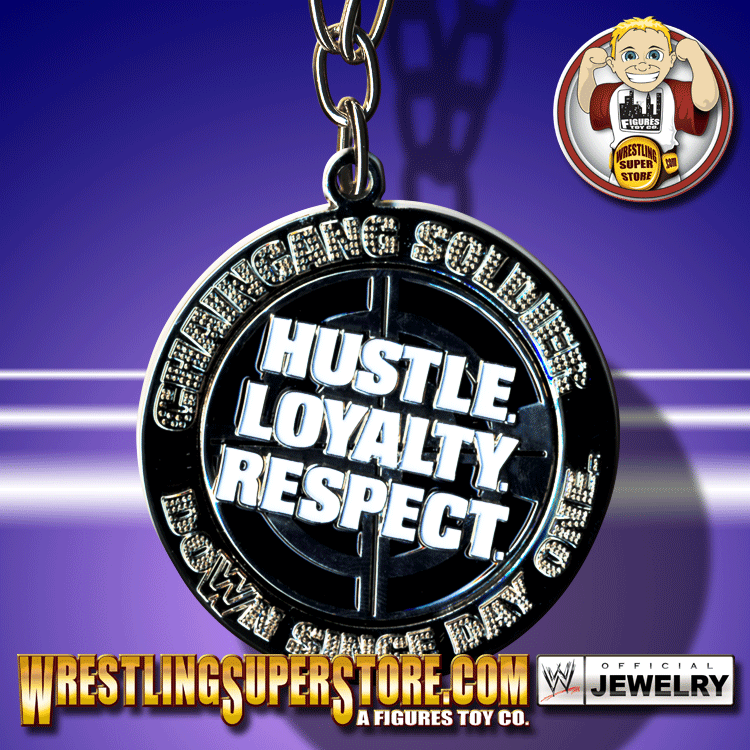 hustle loyalty respect. WWE John Cena Hustle Loyality